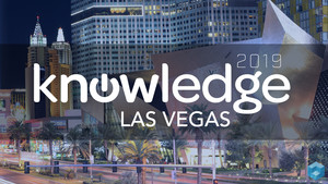 Lewis Martin attends ServiceNow Knowledge 19 in Las Vegas - KA2